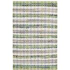 Ingleside Hand-Woven Green/Gray Area Rug Rug Size: Square 6'