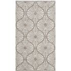 Oak Hill Hand-Woven Beige/Ivory Area Rug Rug Size: Rectangle 5' x 8'