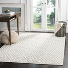 Cabana Light Gray/Cream Indoor/Outdoor Area Rug Rug Size: Rectangle 9' x 12'