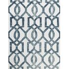 Eltingville White & Gray Area Rug Rug Size: Rectangle 7'6