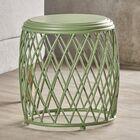 Ranallo Indoor Iron End Table Color: Green
