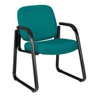Jude Arm Guest Chair Color: Teal