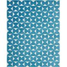 Petrina Blue Area Rug Rug Size: Rectangle 8' x 10'