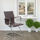 Ferranti Guest Chair Upholstery: Brown