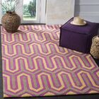 Martins Hand-Tufted Pink/Gray Area Rug Rug Size: Rectangle 5' x 8'