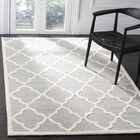Charlenne Hand-Tufted Light Gray/Ivory Area Rug Rug Size: Rectangle 4' x 6'