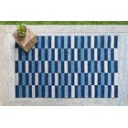 Staple Hill Blue Indoor/Outdoor Area Rug Rug Size: Rectangle 7'6