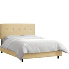 Upholstered Panel Bed Size: Queen, Color: Buckwheat