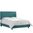 Upholstered Panel Bed Color: Laguna, Size: King