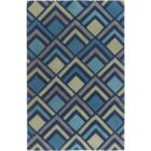 Mcgray Hand-Tufted Navy Area Rug Rug Size: Rectangle 9' x 13'