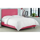 Whiteway Upholstered Panel Bed Size: King, Color: Duck French Pink