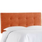 Castellon Tufted Upholstered Panel Headboard Size: Twin, Upholstery: Atomic