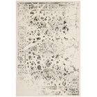 Skidmore Ivory/Light Grey Contemporary Area Rug Rug Size: Rectangle 9' x 12'