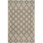 Cherico Hand-Tufted Light Gray/Dark Gray Area Rug Rug Size: Rectangle 7'6
