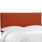 Speight Nail Button Upholstered Panel Headboard Size: Full, Upholstery: Mystere Hacienda