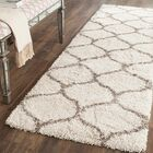 Marco Ivory/Gray Area Rug Rug Size: Runner 2'3