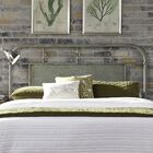 Lamont Open-Frame Headboard Color: Green, Size: Queen
