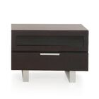 Colucci 1 Drawer Nightstand Color: Wenge