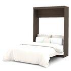 Truett Murphy Bed Color: Antigua, Size: Full