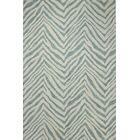 Forontenac Hand-Tufted Ivory / Aqua Area Rug Rug Size: Rectangle 5' x 7'6
