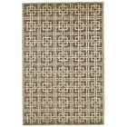 Kentwood Hand-Knotted Brown/Beige Area Rug Rug Size: Rectangle 7'9
