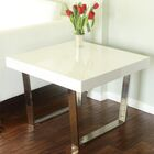 Tucci End Table Color: White
