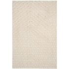 Maxim Hand-Knotted Beige Area Rug Rug Size: Rectangle 9' x 12'