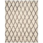 Lohan Hand-Tufted Ivory/Gray Area Rug Rug Size: Rectangle 6' x 9'