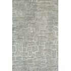 Martone Hand-Tufted Silver Area Rug Rug Size: 8' x 11'
