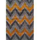 Rossman Tangerine Area Rug Rug Size: Rectangle 3'3