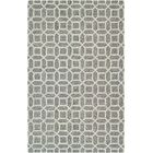 Lopes Hand Woven Wool Charcoal/Gray Area Rug Rug Size: Rectangle 7'10