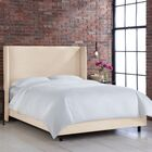 Settles Upholstered Panel Bed Size: California King, Color: Klein Ivory