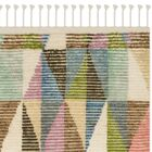 Lohan Hand-Knotted Green/Blue Area Rug Rug Size: Rectangle 9' x 12'