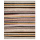 Vasquez Hand-Woven Red/Multi-Colored Area Rug Rug Size: Rectangle 8' x 10'