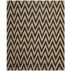 Garman Black/Natural Original Area Rug Rug Size: Rectangle 9' x 12'