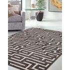 Teague Charcoal/Beige Area Rug Rug Size: 7'10