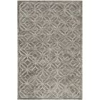 Flippen Hand-Knotted Slate Area Rug Rug Size: Rectangle 6' x 9'