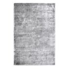 Netto Hand-Woven Silver Area Rug Rug Size: 5' x 8'