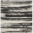 Aislinn Dark Grey / Light Grey Area Rug Rug Size: Square 6'