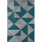 Lueras Hand-Tufted Lapis Area Rug Rug Size: Rectangle 4' x 6'