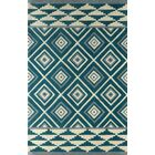 Luevano Hand-Tufted Lapis Area Rug Rug Size: Rectangle 8' x 10'