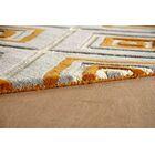 Luevano Hand-Tufted Sorrel Ivory/Gray Area Rug Rug Size: Rectangle 8' x 10'