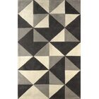 Lueras Hand-Tufted Platinum/Ivory Area Rug Rug Size: Rectangle 4' x 6'