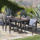 Rittenhouse Wicker Outdoor 9 Piece Dining Set Color: Brown
