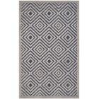 Mcgruder Cream/Navy Indoor/Outdoor Area Rug Rug Size: Rectangle 5'3