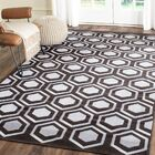 Barrier Hand-Woven Charcoal Area Rug Rug Size: Rectangle 8' x 10'