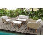 Llanas 4 Piece Sofa Set with Cushions