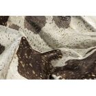 Houchin Cowhide Chocolate/White Area Rug