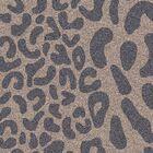 Macias Handmade Gray Animal Print Area Rug Rug Size: Round 4'
