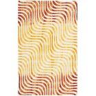 Niki Dip Dyed Ivory/Terracotta Area Rug Rug Size: Rectangle 8' x 10'